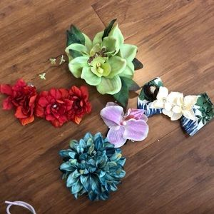 Accessories - Pinup hair flower collection